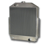1942-1952 Ford Trucks with CHEVY V8 Motor Aluminum Radiator