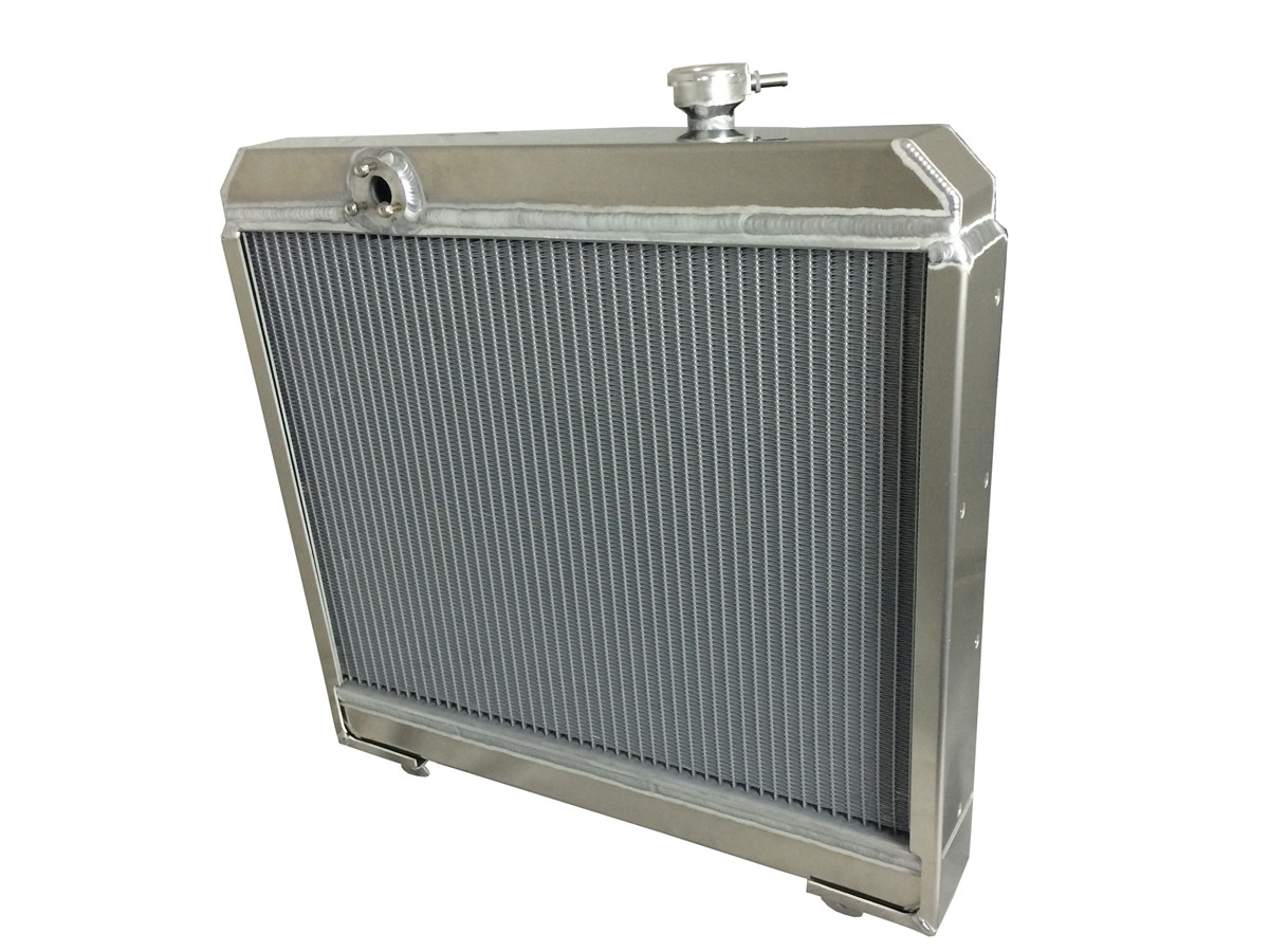 1969-1971 Jaguar XKE (4.2L), E-Type Aluminum Radiator Back
