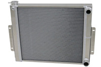 1976-1986 Jeep CJ Crossflow (Chevy V8, LS) Aluminum Radiator