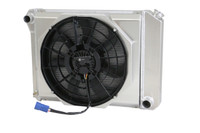 "20.75"" Core Various GM Applications Aluminum Radiator (W/ Brushless fan)"