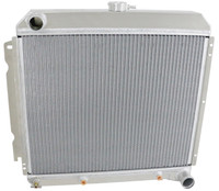 "1966-1969 22"" Core Mopar Aluminum Radiator (Driver-side inlet, Passenger-side Outlet)"