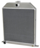 1942-1948 Ford Car (Chevy V8) Aluminum Radiator (Ford Motor)