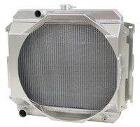 "1970-1973 22"" Mopar Applications Aluminum Radiator (W/ Mechanical Fan Shroud)"