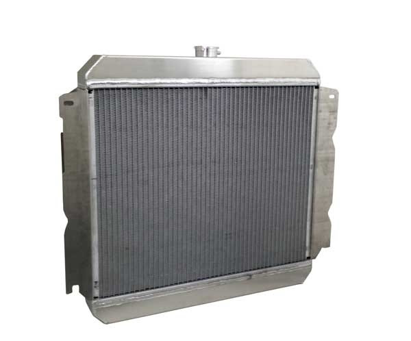 "1970-1973 22"" Mopar Applications (PS Inlet) Aluminum Radiator Back"