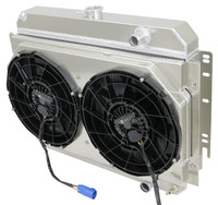 "1964-1967 Bel Air/ Impala/ Chevelle/ Malibu/Monte Carlo/ El Camino (15.5"" Core, w/ LS SWAP), FULL PACKAGE w/ BRUSHLESS FANS"