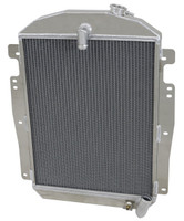 1937-1939 Chevrolet Trucks Aluminum Radiator (Straight 6)