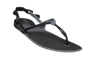 Amuri Cloud - Barefoot Sandal - Mens - Black Charcoal