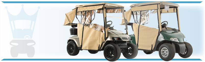 EZGO Golf Cart Enclosures