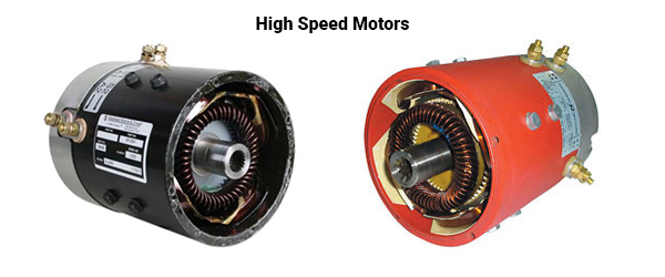 High Speed Golf Cart Motors