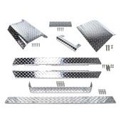 EZGO TXT Diamond Plate Full Accessory Kit 1995-2014