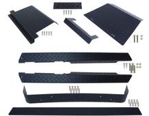 EZGO TXT (Black) Diamond Plate Full Accessory Kit 1995 - 2014