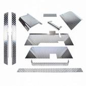 EZGO TXT Diamond Plate Accessorry Kit With Floor 1995-2014