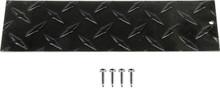 EZGO TXT (Black) Diamond Plate Name Plate .056 ga   1995 - 2014