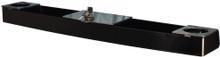 Black Acrylic Console for E-Z-GO RXV