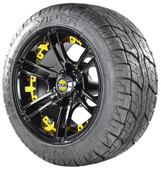 Viper Tire with Yellow Insert