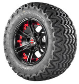 Predator Tire with Red Insert