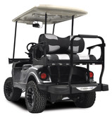 Madjax Genesis 250 EZGO Rear Flip Seat with Base Cushion - Choose Your Cart Model and Two Tone Colors