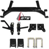 "GTW 5"" Drop Axle Lift Kit - EZGO TXT 2001.5-2008.5 Gas/Elec"