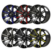 Illusion Wheel Color Inserts 12""