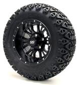 "12"" GTW Diesel Matte Black Wheels Combo - Choose the Lift Kit"
