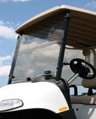EZGO Folding Impact Modified Windshield - Choose Your Model