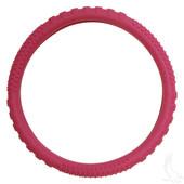 Rubber Steering Wheel Cover - Magenta