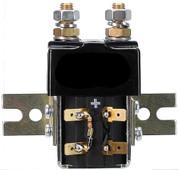 36v/48v Curtis Solenoid - with bracket, resistor, diode attached