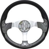 "GTW Pursuit Carbon Fiber 14"" Golf Cart Steering Wheel"