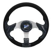 "Madjax Razor Carbon 13"" Golf Cart Steering Wheel"