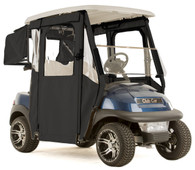 """DOOR-LUX"" 3-Sided Sunbrella Golf Cart Enclosure for Club Car Precedent (Choose Color)"