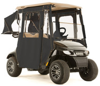 """DOOR-LUX"" 3-Sided Sunbrella Golf Cart Enclosure for EZGO TXT48 (Choose Color)"