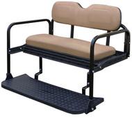 RHOX 400 series Aluminum Rear Seat Kit - Club Car DS