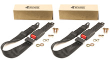 (2) Universal Golf Cart NON-Retractable Seat Belt