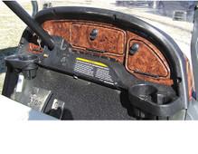 Dash, Dark Woodgrain, Club Car Precedent 2004-2008.5