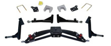 """Jake's Club Car Precedent 6"""" Double A-arm Lift with H/D Rear Lift (Fits 2004-Up)"""