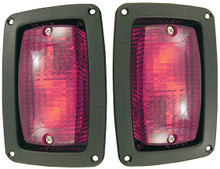 RHOX LED Taillight Set (Fits: Club Car DS, Yamaha, E-Z-GO)