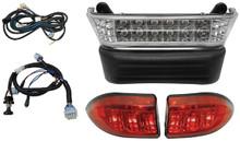 RHOX Club Car Precedent SS LED Light Bar Kit (Fits: Electric 08.5+ w/ 12V Batteries)