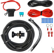 RHOX LED Utility Wiring Kit w/ Push/ Pull Switch 12' Wire