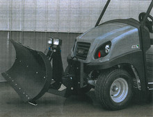 "Golf Cart Snow Plow - 64"" Blade"