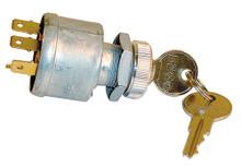 EZGO Universal 4 Terminal Key Switch w/ Mixed Key Codes