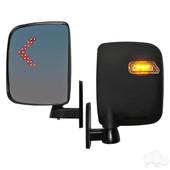 RHOX Side  Mirror With LED Turn Signal