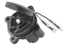 DC Receptacle with Cut Off Button for Yamaha (G1-G9)