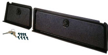 Black Glove Box Set for Club Car DS (1982-Up)