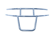 Madjax Stainless Steel Brush Guard for EZGO RXV (2008-2015)