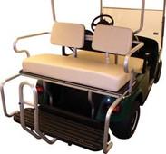 Ivory Rear Flip Flop Seat Kit for Yamaha (G2/G9)