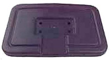 Black Seat Back Cap for Club Car DS (1982-99)