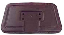 Brown Seat Back Cap for Club Car DS (1982-99)