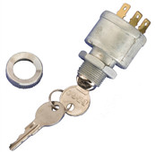 OEM EZGO 4 Terminal Ignition Key Switch - Carts WITH Lights