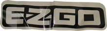 EZGO 2009-Up Gas and Electric ST400 Name Plate Decal