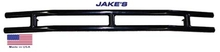 Club Car DS Jake's Black Powder Coat Rear Bumper